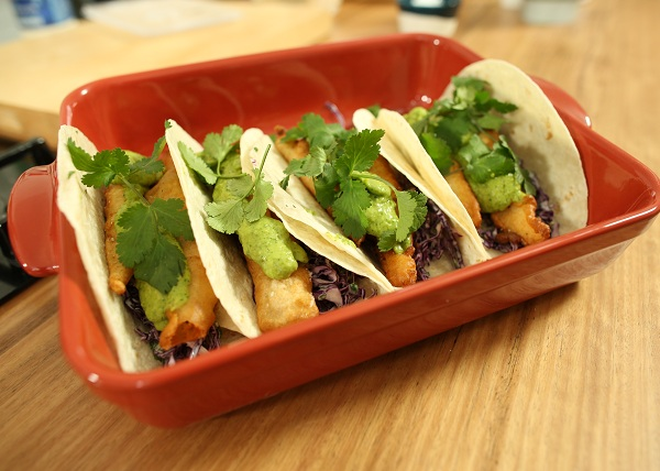 Fish Tacos with Avacado Jalapeno recipe - The Cooks Pantry