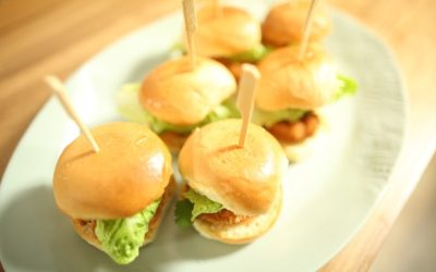 Panko Prawn Sliders