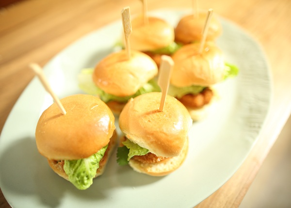 Panko Prawn Sliders recipe - The Cooks Pantry
