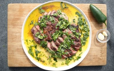 Perfect Steak with Chimichurri Sauce