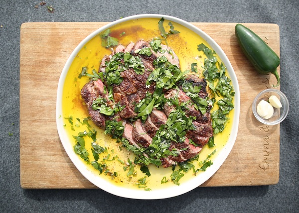 Perfect Steak with Chimichurri recipe - The Cooks Pantry
