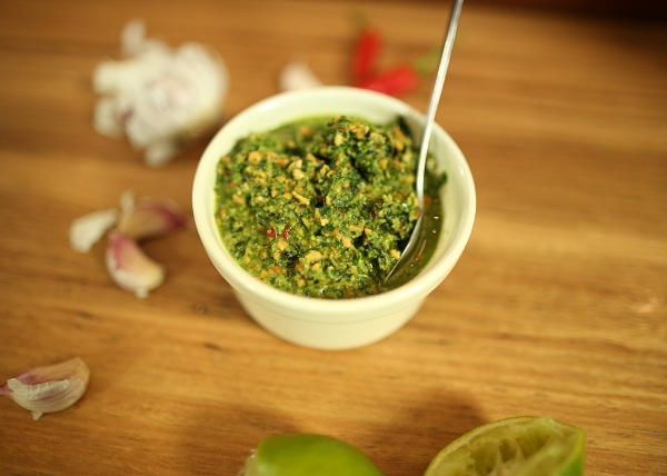 Thai Basil Pesto recipe - The Cooks Pantry