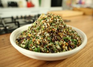 Almond Cranberry and Cauliflower Rice Salad recipe - The Cook's Pantry