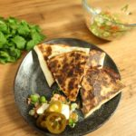 BBQ Chicken _ Jalapeno Quesadilla recipe - The Cooks Pantry