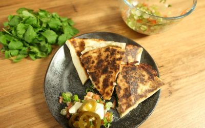 Chicken and Jalapeno Quesadillas