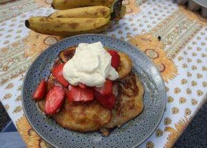 Banana Pancakes recipe - The Cooks Pantry