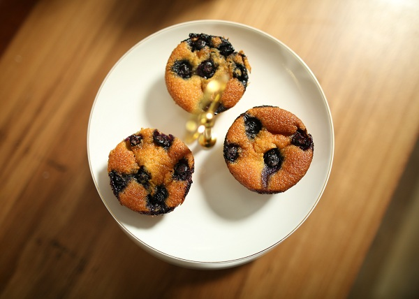 Blueberry Friands recipe - The Cook's Pantry