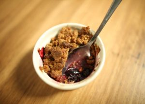 Gluten-Free Berry Crumble recipe - The Cooks Pantry