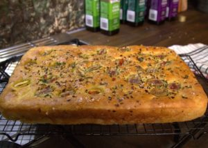 Olive and Herb Foccacia recipe - The Cook's Pantry