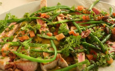 Seared Tuna Nicoise With Sauce Vierge