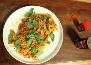 Spaghetti Puttanesca recipe - The Cooks Pantry