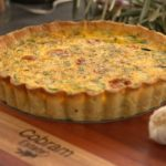 Spring Quiche with Olive Oil Crust recipe - The Cooks Pantry