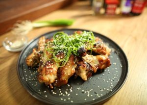 Sticky chicken wings recipe - The Cooks Pantry
