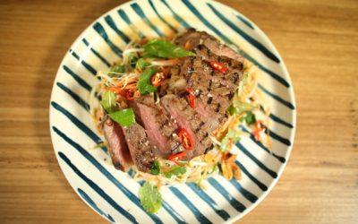 Vietnamese Lemongrass Beef Salad