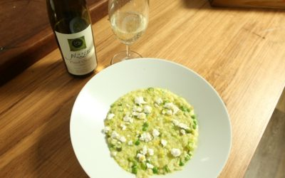 Asparagus and Pea Risotto