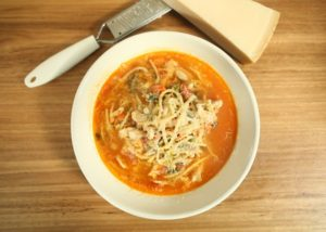 BBQ Chicken Minestrone Soup recipe - The Cooks Pantry