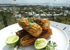 BBQ Harissa Corn Cobs recipe - The Cooks Pantry