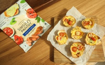 Bacon and Egg Tortilla Cups