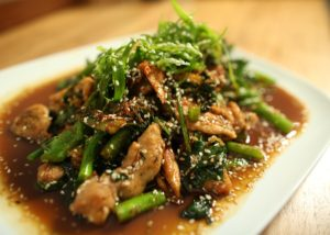Chicken with Sesame Greens recipe - The Cooks Pantry