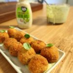 Chorizo _ Potato Croquettes with basil aioli recipe - The Cooks Pantry