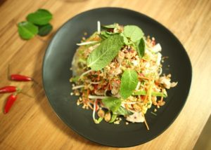 Coconut Poached Chicken Salad recipe - The Cooks Pantry
