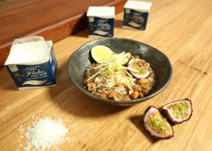 Coconut Quinoa Bircher with Salted Caramel recipe - The Cooks Pantry