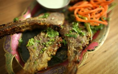 Curry Lamb Cutlets