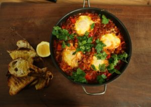 Egg and Baked Beans recipe - The Cooks Pantry