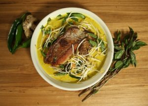 Ginger _ Turmeric Snapper Curry recipe - The Cooks Pantry