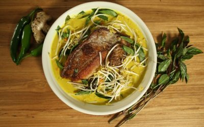 Ginger & Turmeric Snapper Curry