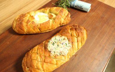 Hasselback Bread