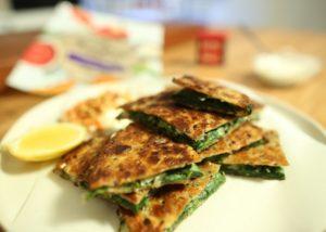 Herb _ Feta Flatbreads recipe - The Cooks Pantry