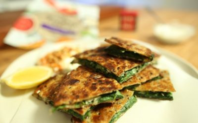 Spinach & Herb Flatbreads