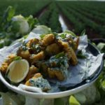 Indian Fried Cauliflower with Green Yoghurt recipe - The Cooks Pantry