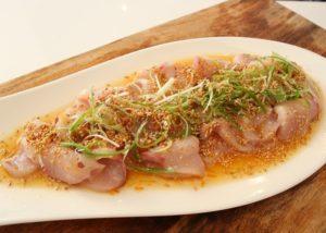 Kingfish Sashimi recipe - The Cooks Pantry