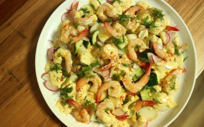 Prawn and Potato Salad