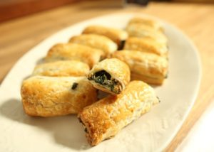 Spinach _ Ricotta Pastry Rolls recipe - The Cooks Pantry
