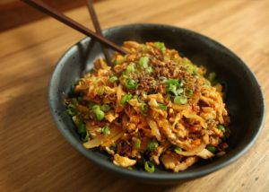 BBQ Chicken Fried Rice recipe - The Cooks Pantry