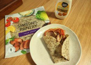 BLT Wrap recipe - The Cooks Pantry