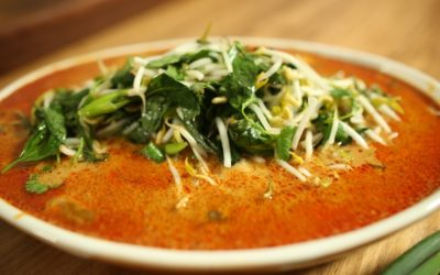 Steamed Barramundi with Red Curry