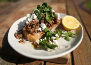 Beef Mince on Toast recipe - The Cooks Pantry