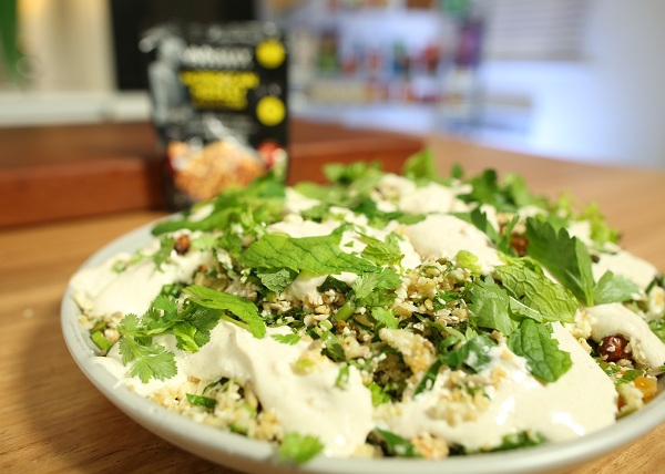 Cauliflower and Couscous Yoghurt Dressing recipe - The Cooks Pantry
