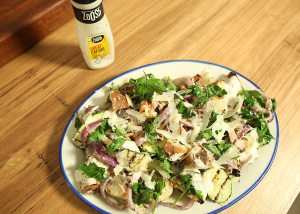 Char grilled Caesar Salad recipe - The Cooks Pantry
