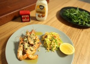 Chargrilled Prawns recipe - The Cooks Pantry