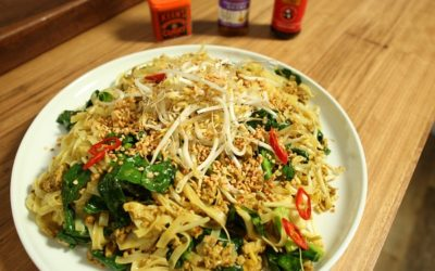 Coconut Curry Pork Noodles