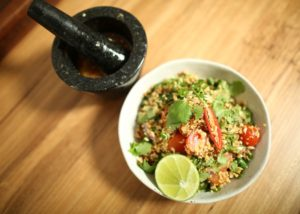 Cous Cous Thai Bouli recipe - The Cooks Pantry