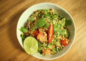 Cous Cous Thai Bouli social recipe - The Cooks Pantry