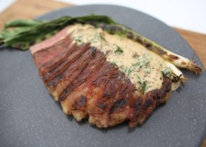 Fillet Steak with Pepper Sauce _ Spring Onions recipe - The Cooks Pantry