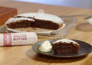 Flourless Choc Cake recipe - The Cooks Pantry