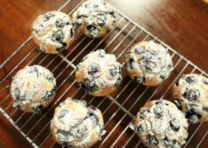 Olive Oil and Blueberry Muffins recipe - The Cooks Pantry